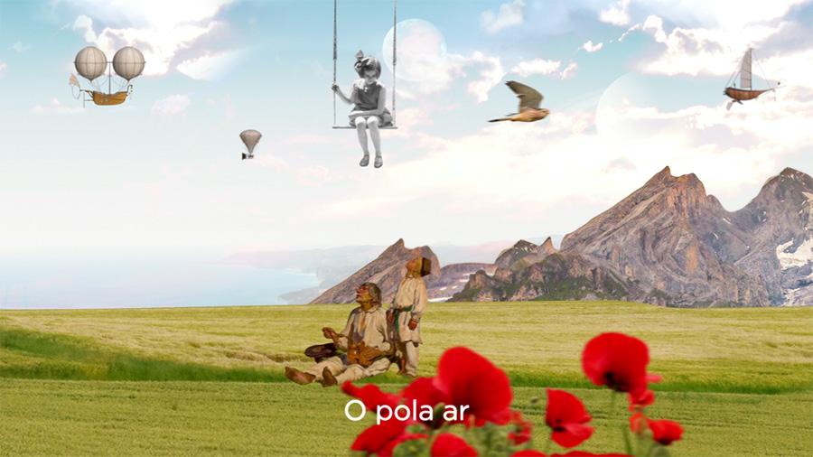 Still from Official Music Video